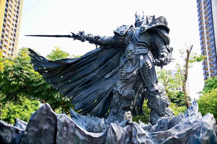 Arthas-Statue-Taiwan