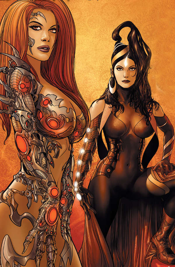 Devi & Witchblade