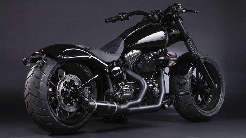 Black Panther Harley Davidson Breakout A K A Ferocious