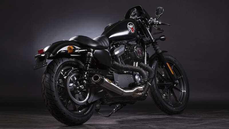 Black Widow U2013 Harley Davidson Iron 883, A.k.a. Uncompromising_2