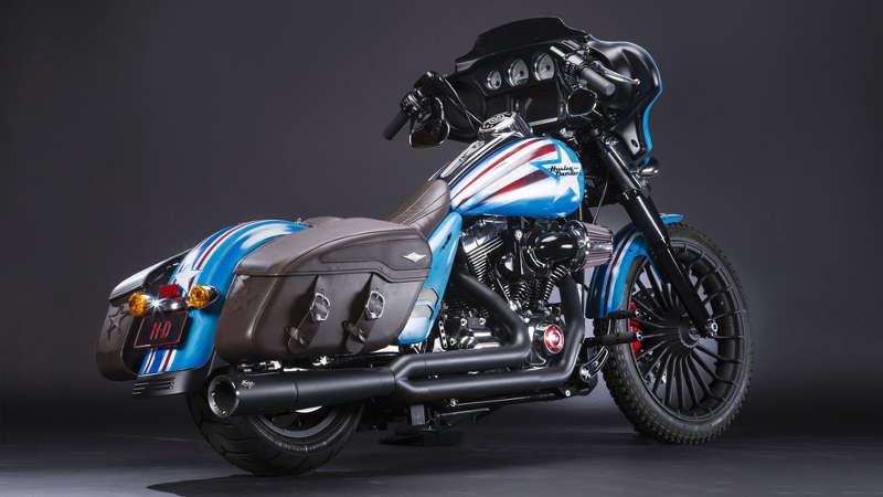 Captain America U2013 Harley Davidson Street Glide Special, A.k.a. Freedom_2