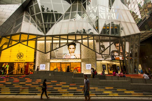 Orchard Road provides plenty of options