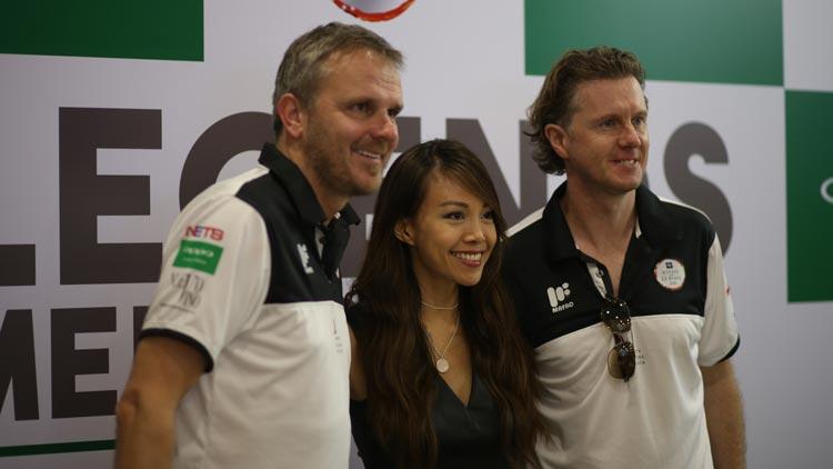 Didi, Jamie and Macca