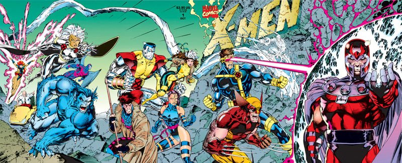Jim Lee's X-Men - Blue and Gold teams