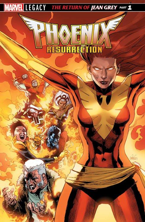 Phoenix Resurrection Cover