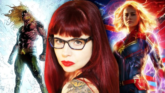 Kelly Sue Deconick, the writer who made Captain Marvel so powerful. Source.