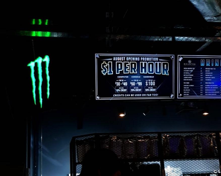 Bountie Arena $1 Monster
