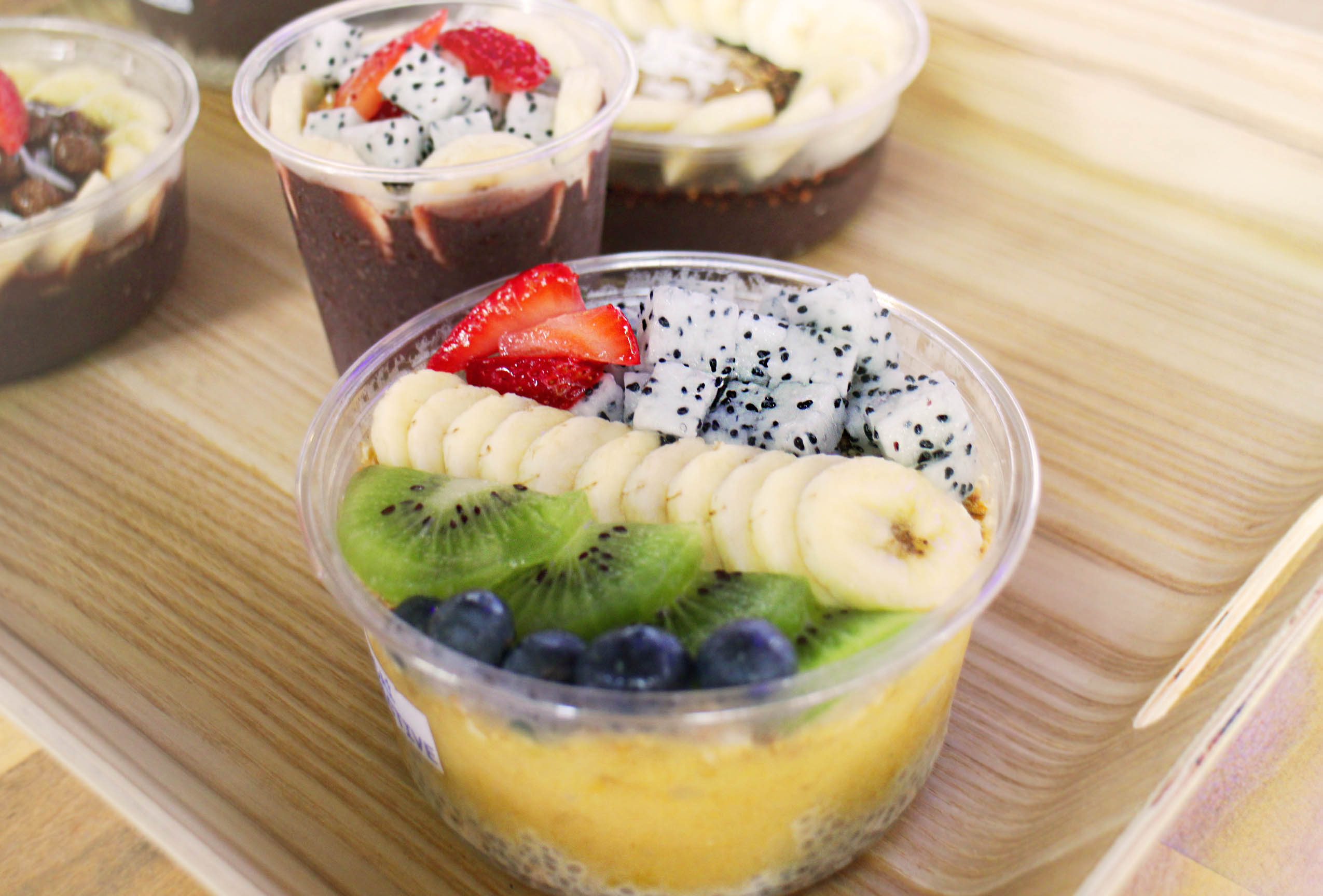 The Acai Bowl sells bowls with the acerola cherry. Found at MyVillage.