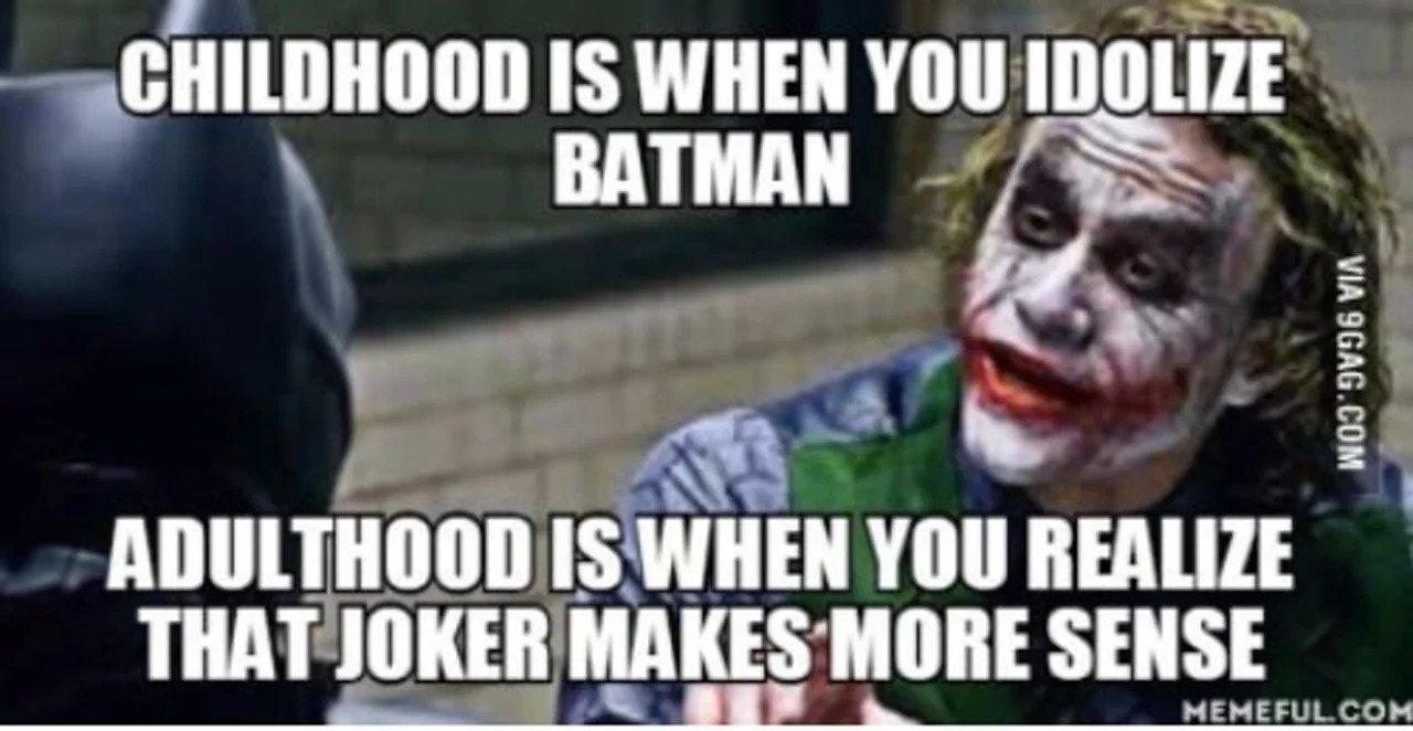 Joker Meme The Dark Knight