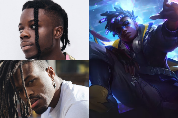 Thutmose and Duckwrth are Ekko in League of Legends' True Damage.