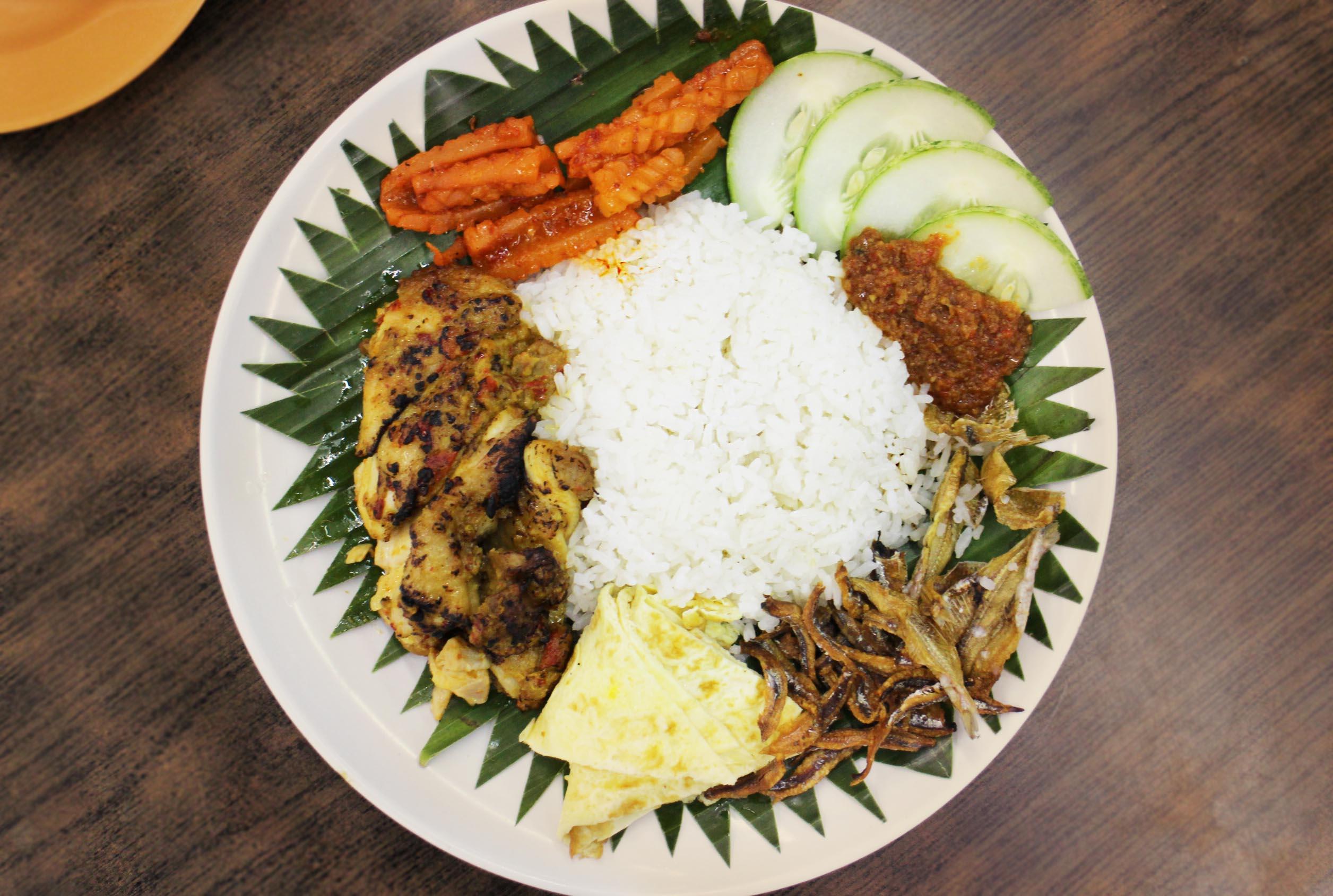 Nasi Lemak at New Ubin Seafood.