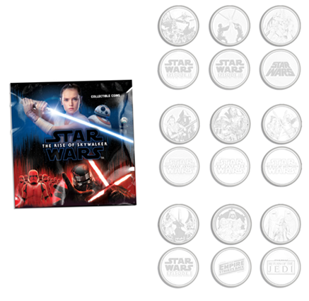 Star Wars The Rise of Skywalker Commemorative Coin
