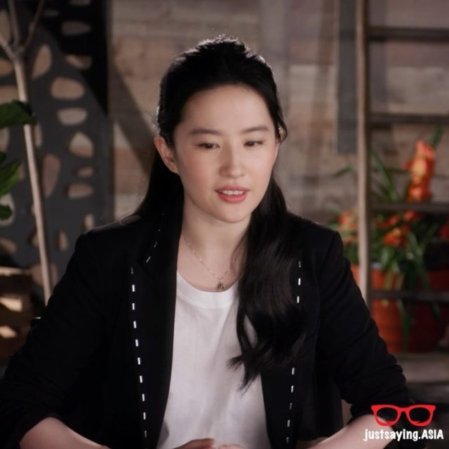 @liuyifeiofficial talks about the star studded @Mulan cast. Click on the link in bio for the full interview. . . . #justsaying #lifestyle #geek #geekout #martialarts #disney #mulan #donnieyen #movies #interview @disney @disneysingapore #jetli #liuyifei
